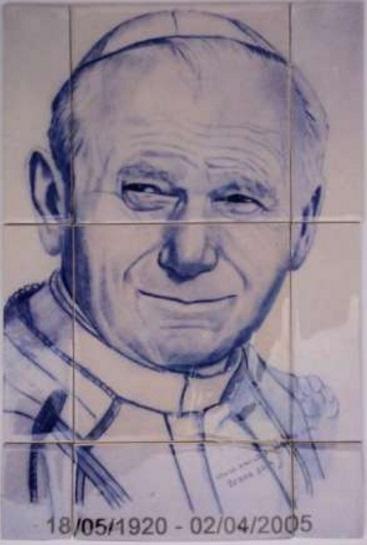 Azulejos Papa João Paulo