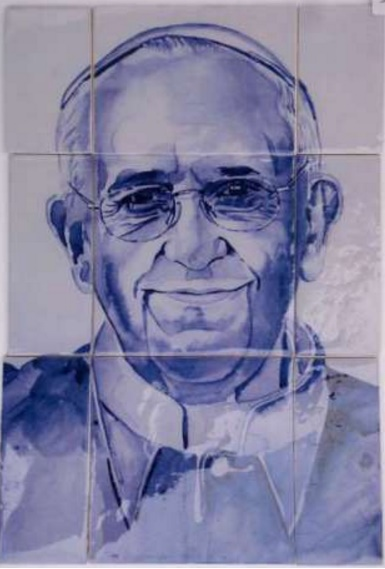 Azulejos Papa Francisco
