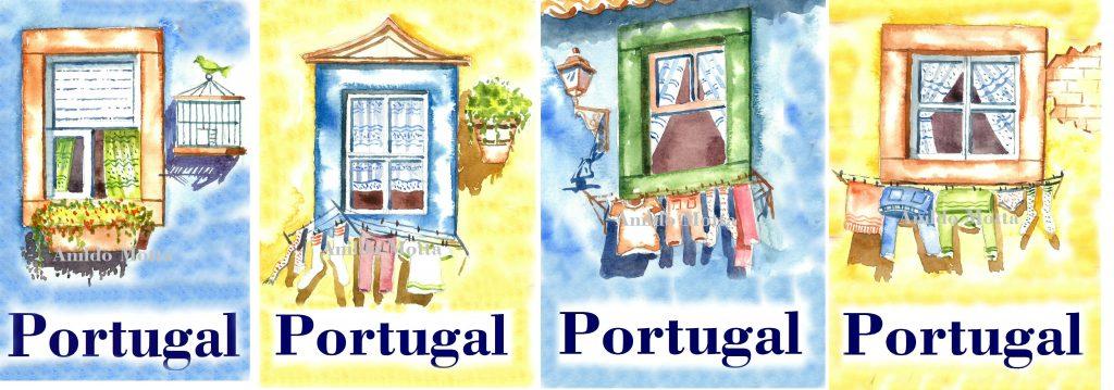 Janelinhas típicas portuguesas